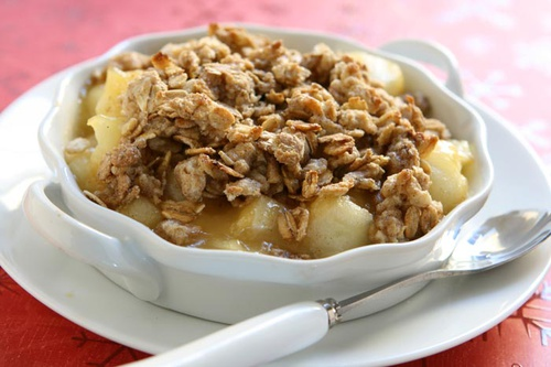 Apple-Maple Granola Crisp