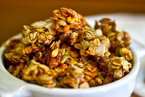 Buttery Maple-Pecan Granola