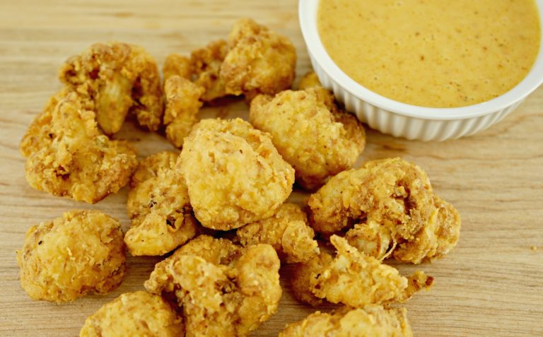 Vegan Deep Fried Cauliflower Wings Recipe