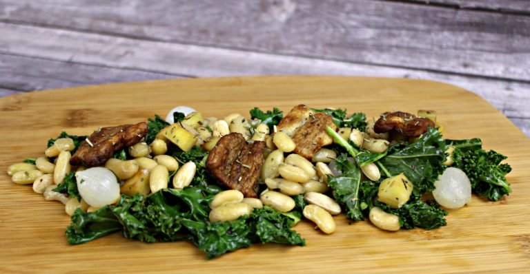 Vegan White Beans with Smoked Nuckhen Recipe