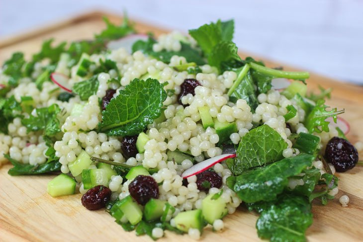 Cucumber and Mint Couscous Salad