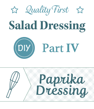 DIY salad dressing Part IV, Spanish Paprika Dressing