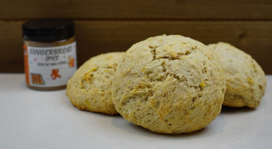 Gingerbread Pineapple  Scone