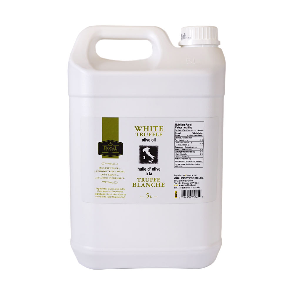 White Truffle Olive Oil 5 L Royal Command
