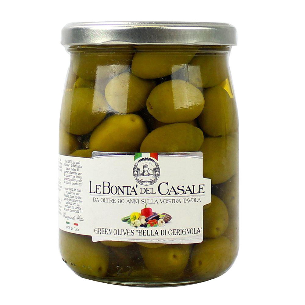 Olive Verdi 'Bella di Cerignola' 580 ml Dispac