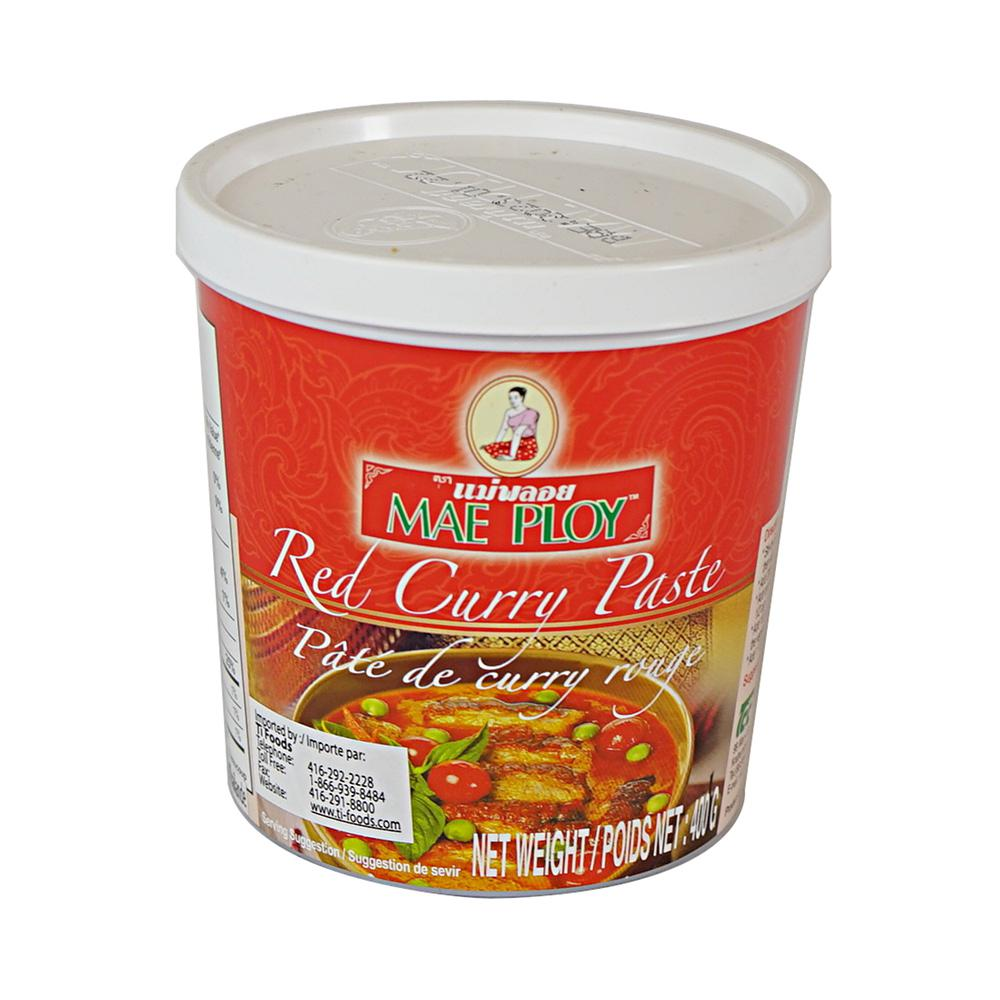 Red Curry Paste Thai 400 g Mae Ploy