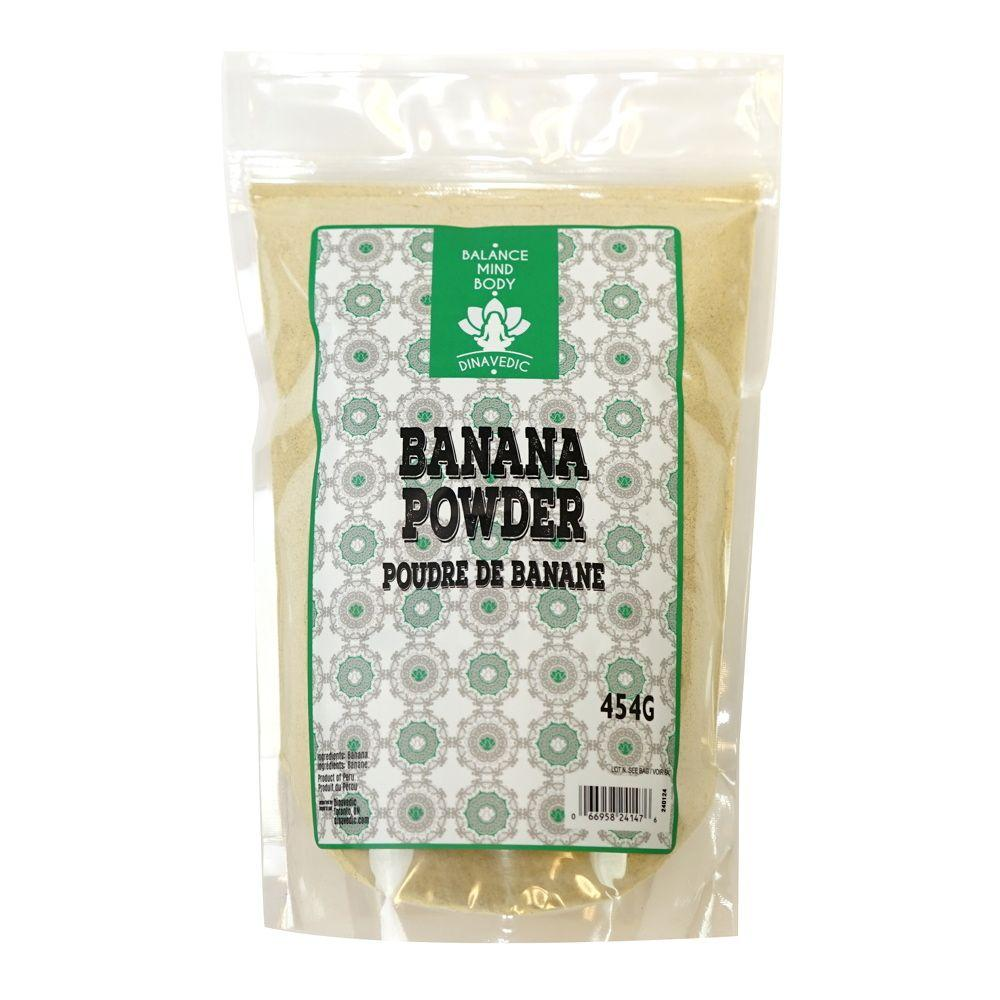 Banana (Green) Powder 454 g Dinavedic