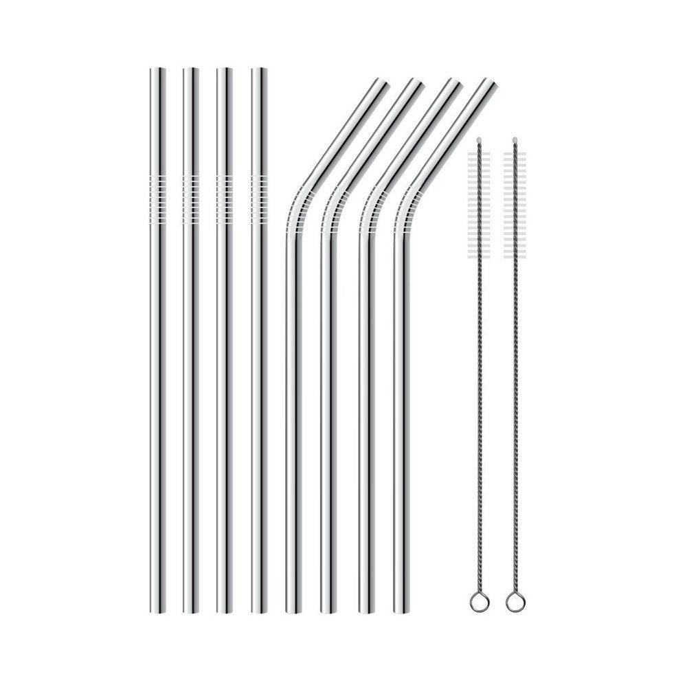 Straw Stainless Steel Assorted Set 1 ct Artigee