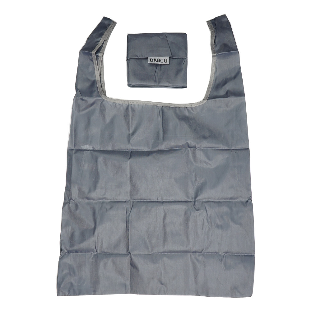 Shopping Bag Foldable Grey 1 pc Inknu
