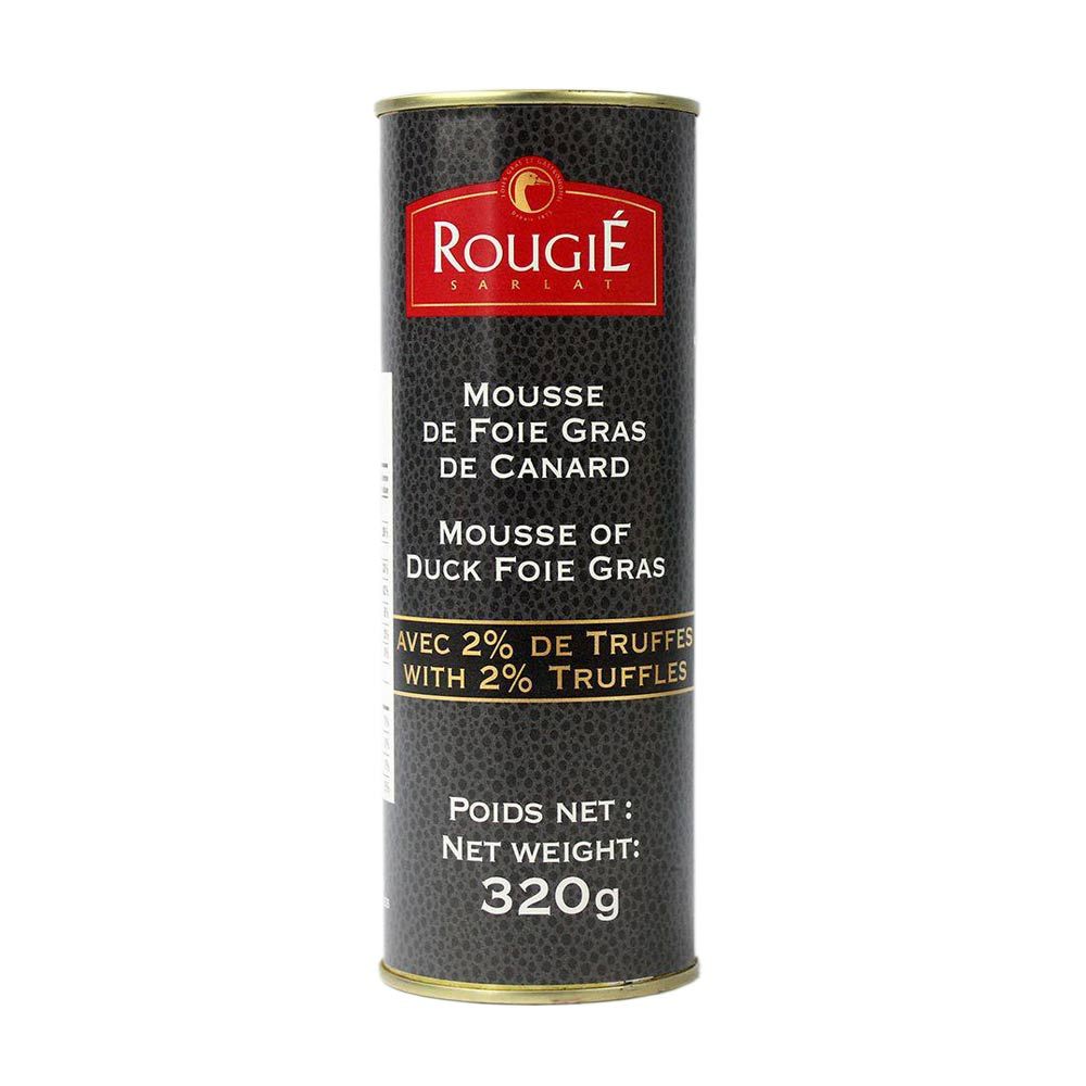Duck Foie Gras Mousse with Truffle 320 g Rougie