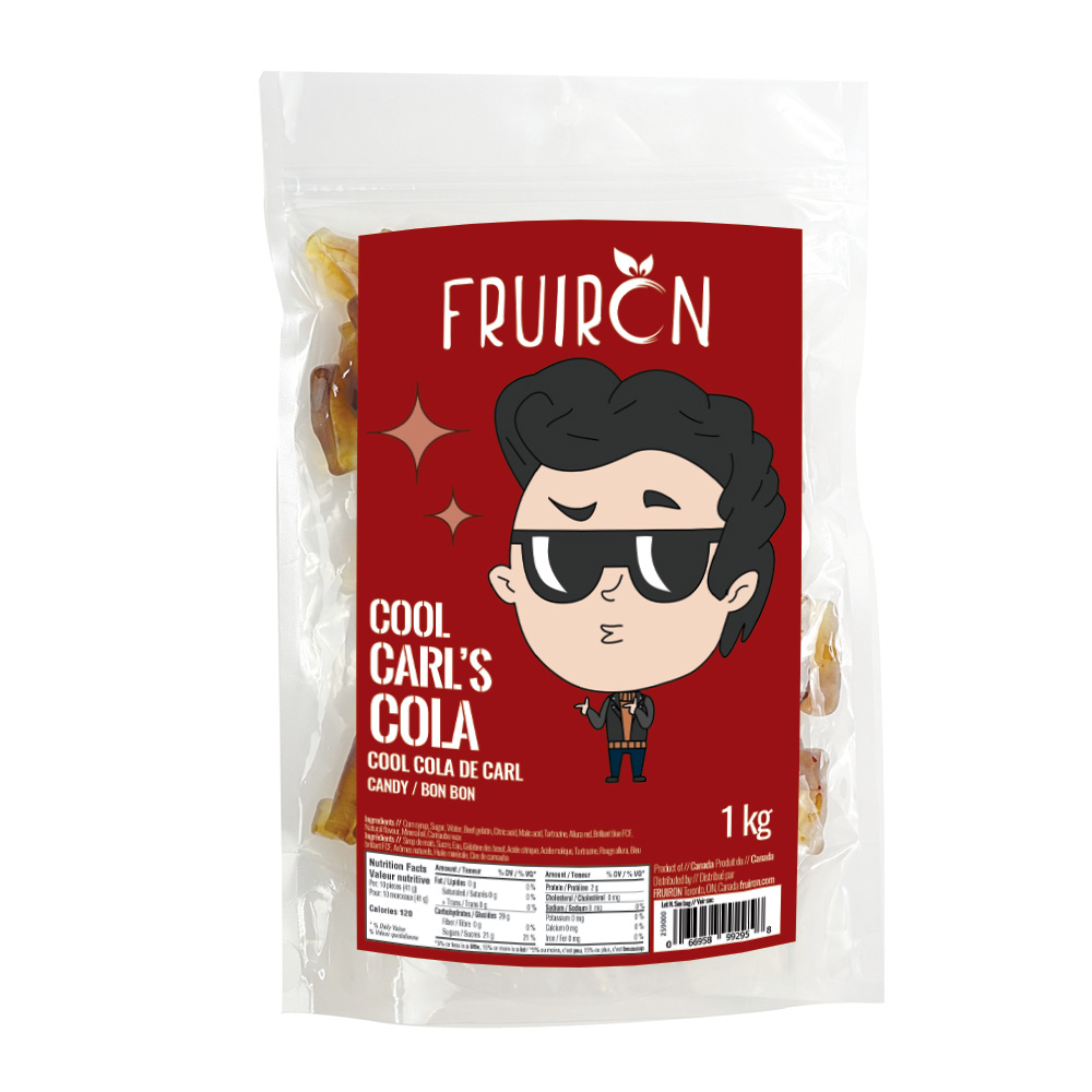 Cool Carl's Cola 1 kg Fruiron