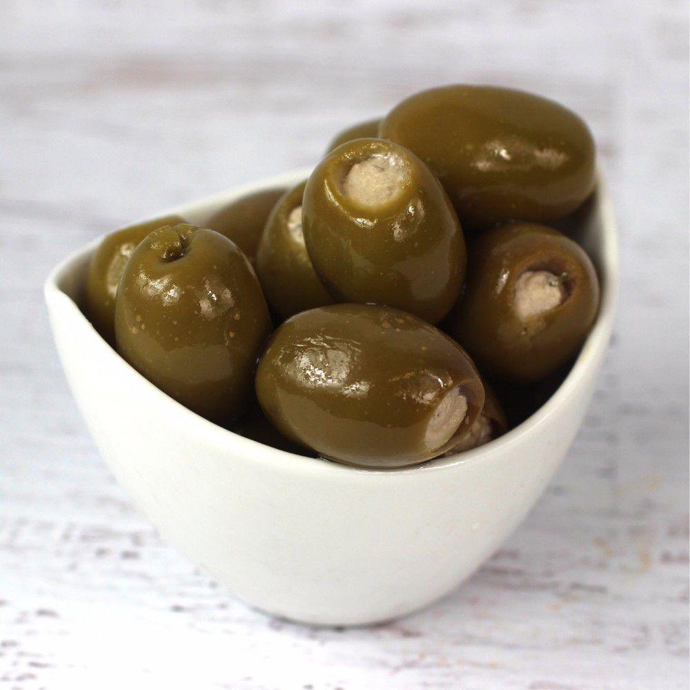 Green Olives Stuffed w/Blue Cheese 1 L Royal Command