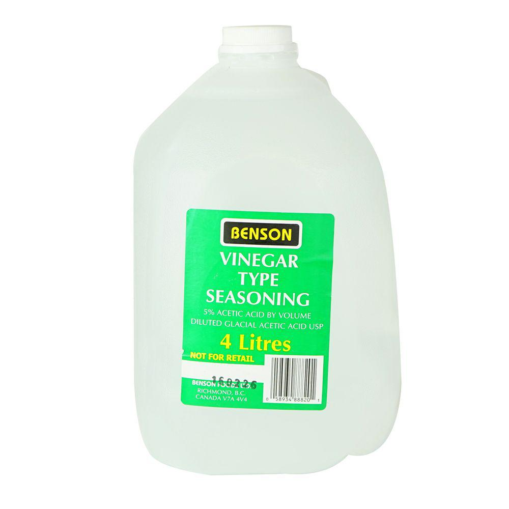 White Vinegar 4 L Benson