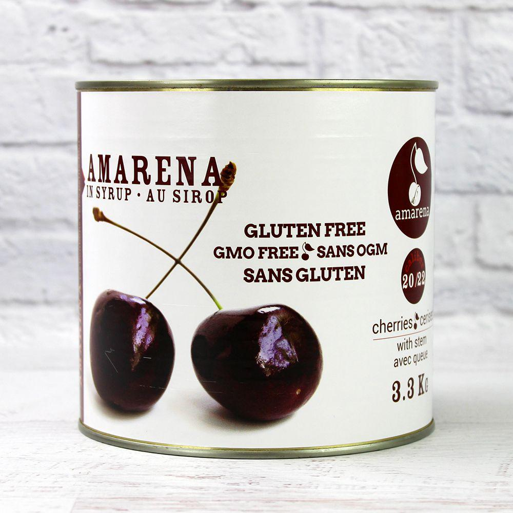 Amarena Cherries with Stem 3.3 kg D'Amarena
