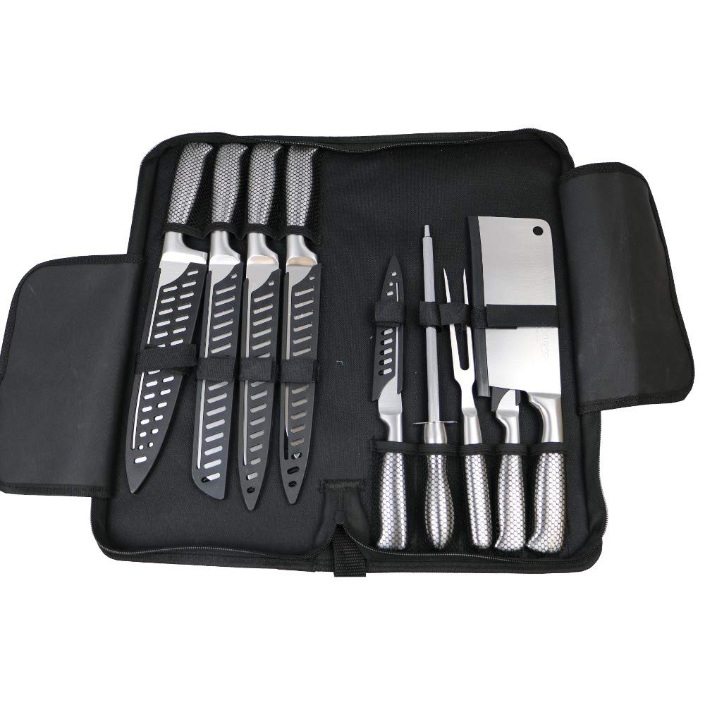 Knife Set w/Carry Case 9 piece 1 pc Artigee