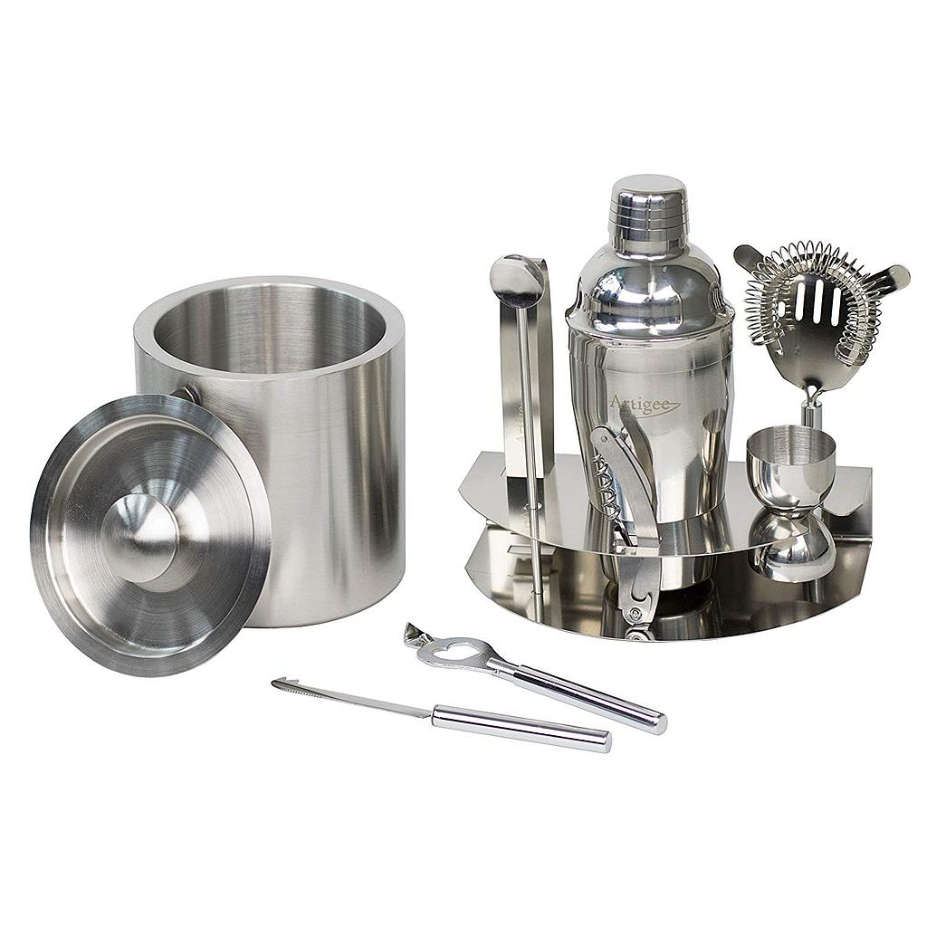 Bar Set w/Bucket 9 Piece 1 pc Artigee