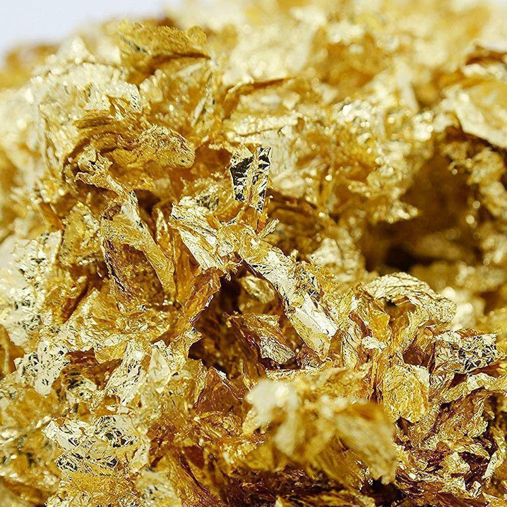 Gold Flake (Decorative) 5 g Choctura