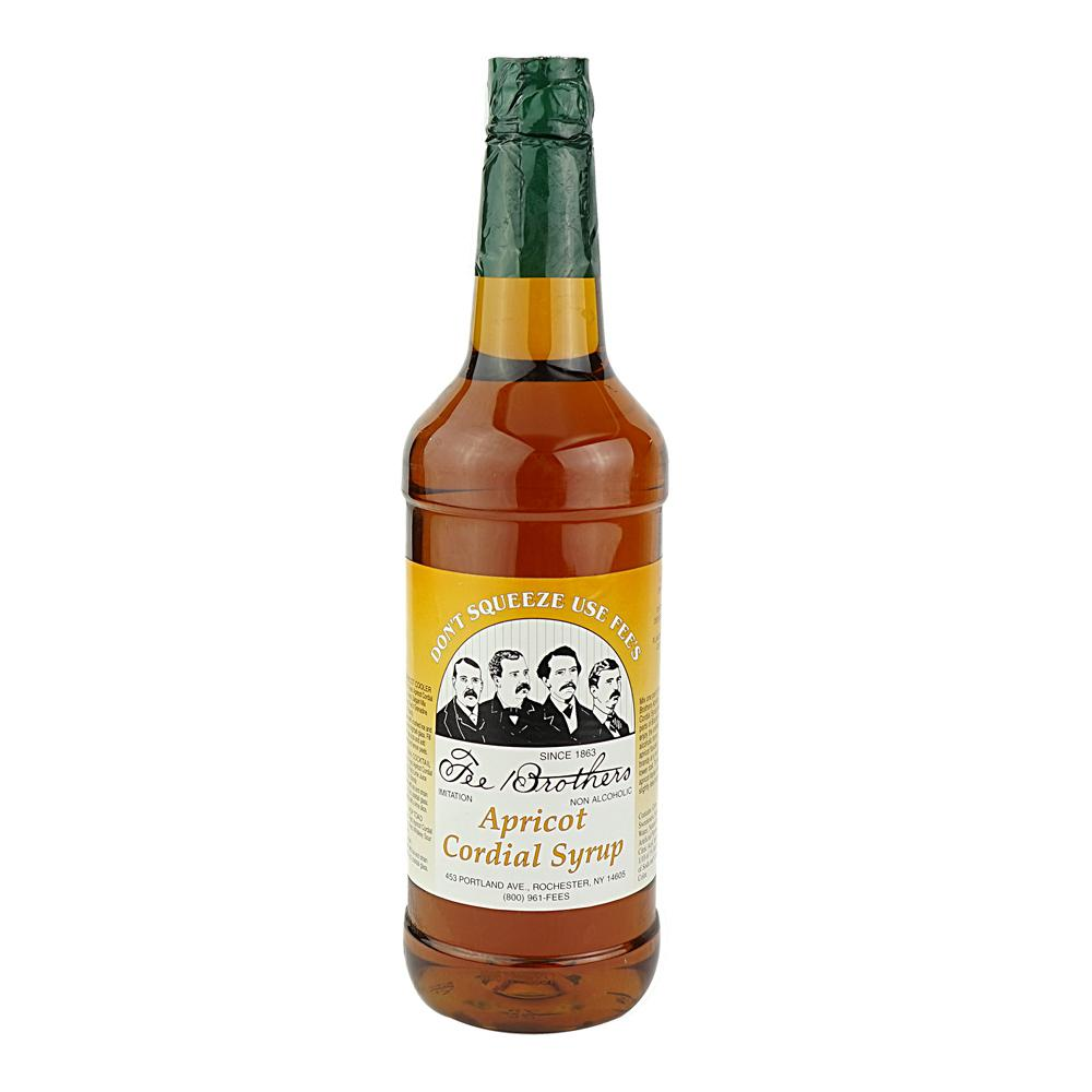 Apricot Cordial Syrup - 946 ml Fee Brothers