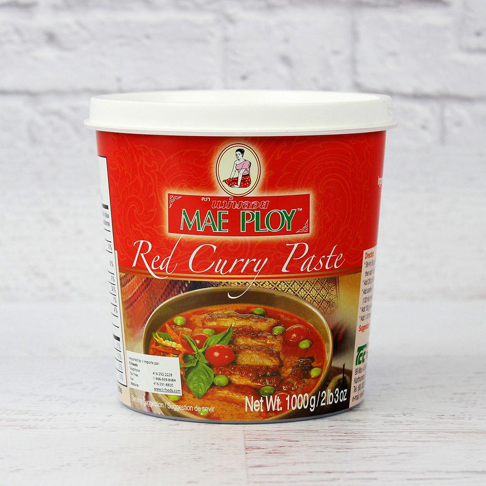 Red Curry Paste Thai 1 kg Mae Ploy