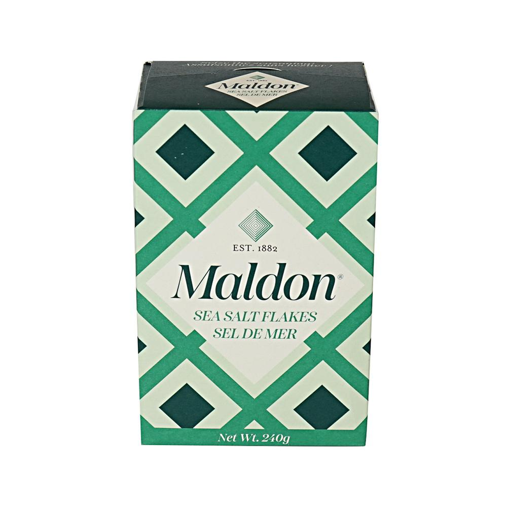 Sea Salt Flakes UK Organic 240 g Maldon