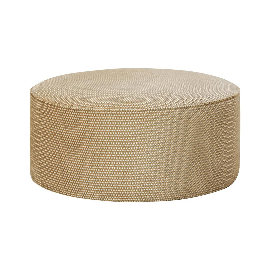 Hugo Pouf Chair Gold - 1 pc Wudern