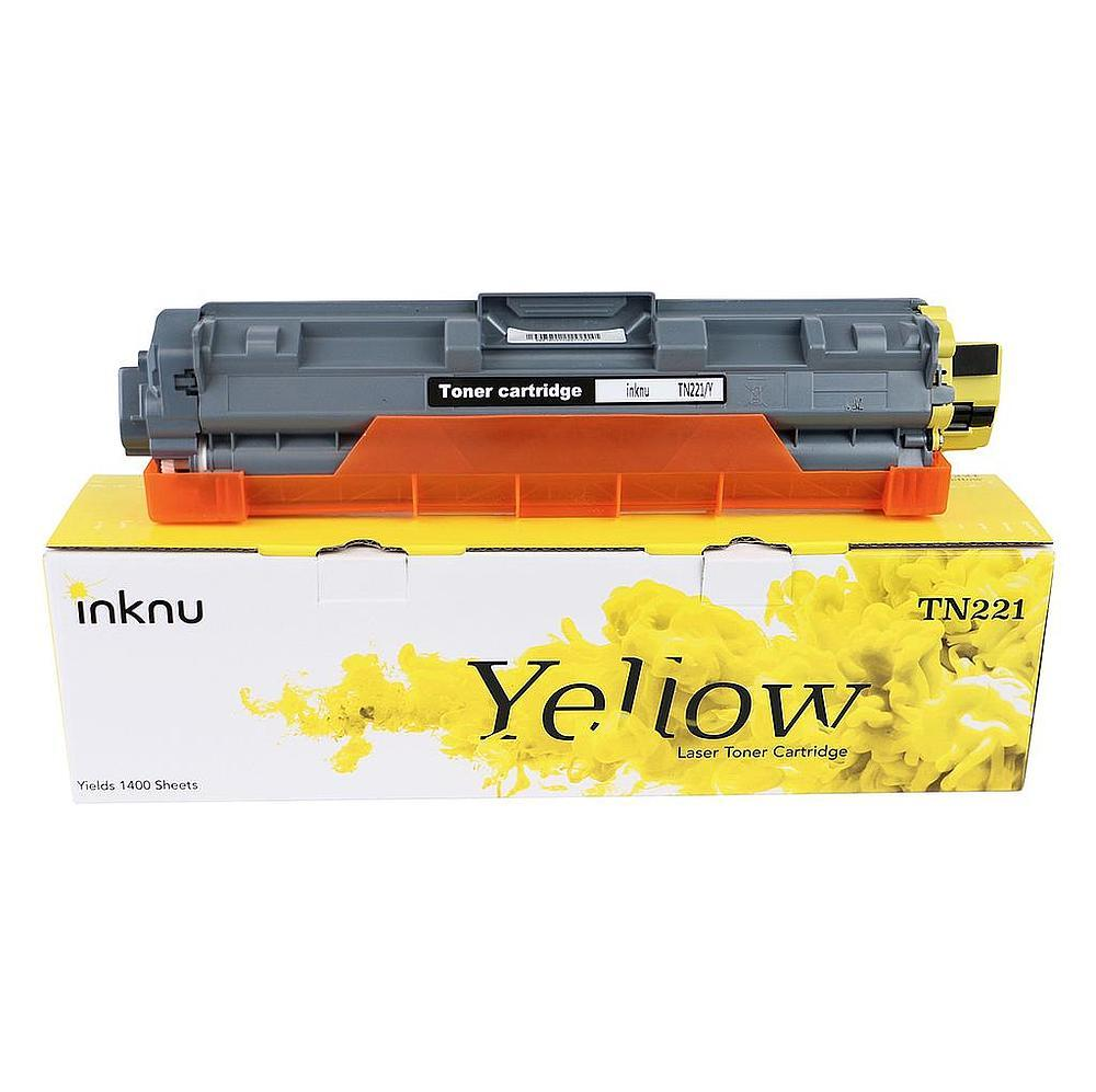 Brother TN221Y Yellow Toner 1 pc Inknu