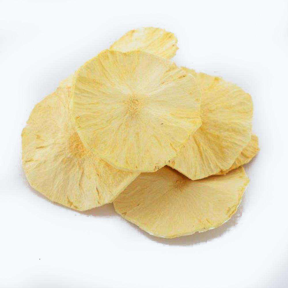 Pineapple Round Freeze Dried 100 g Fresh-As