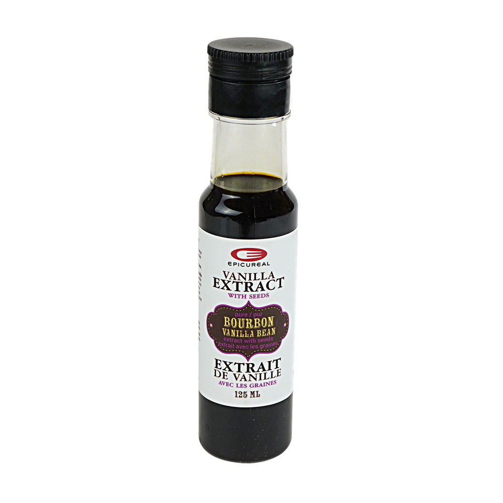 Vanilla Extract with Seeds 4 oz Epicureal