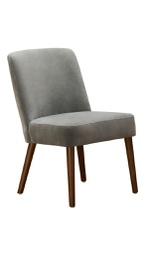 [MID0150] Mido Elegant Dining Chair Grey 1 pc Wudern