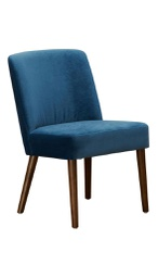 [MID1125] Mido Elegant Dining Chair Midnight  Blue 1 pc Wudern