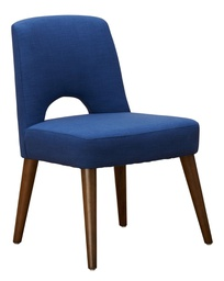 [MOD2106] Modena Wide Dining Chair Blue 1 pc Wudern