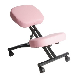 [WDK-1004] Leather Kneeling Chair Pink 1 pc Wudern