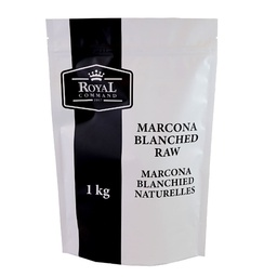 [240018] Marcona Blanched Raw 1 kg Royal Command