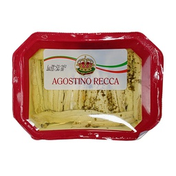 [091075] Filets d'Anchois Blancs 200 g Agostino Recca