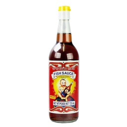 [093025] Fish Sauce Thai (nam-pla/nuoc mam) 725 ml Golden Boy