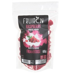 [240984] Raspberry Whole Freeze Dried 60 g Fruiron