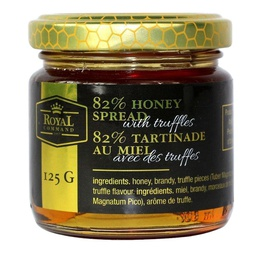 [050750] Honey with White Truffle 125 g Royal Command