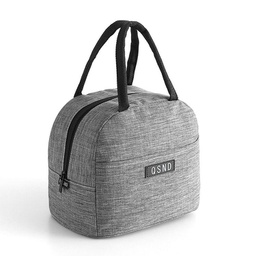 [KNU-8002] Lunch Bag Grey (Insulated) 1 pc Inknu