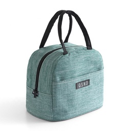 [KNU-8003] Lunch Bag Green (Insulated) 1 pc Inknu