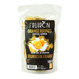 [241205] Orange Rounds Cocktail Garnish 100 g Fruiron