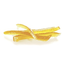 [152617] Lemon Peels Strips Candied 2.5 kg Agrimontana