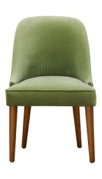 [AMA1056] Amalfi Green Velvet Dining Chair 1 pc Wudern