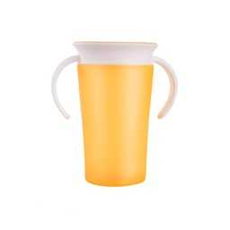 [ARTG-8048Y] Toddler Sippy Cup Yellow 1 pc Artigee