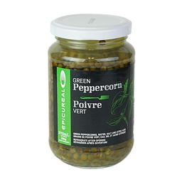 [101326] Green Peppercorn Whole in Brine 370 ml Epicureal
