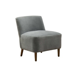 [FRE0150] Freo Lounge Chair Grey 1 pc Wudern
