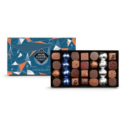 [170599] 28ct Dark & Milk Chocolate Box 308 g Michel Cluizel