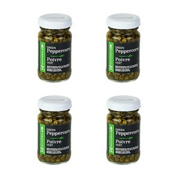 [101325-4] Green Peppercorn Whole in Brine 50ml 4 pc Epicureal