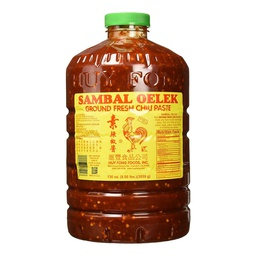 [103038] Chili Paste (Sambal Oelek) 136 oz Huy Fong Foods