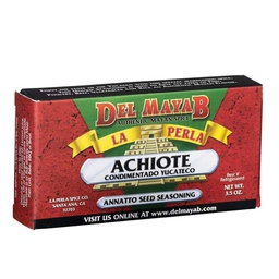 [105301] Achiote Paste Red 110 g La Perla