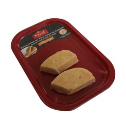 [070115] Duck Foie Gras 2 pc Slices IQF 70 g Rougie